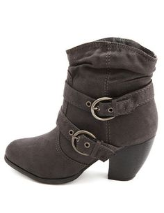 Fur-Lined Sueded Ankle Bootie $38.50