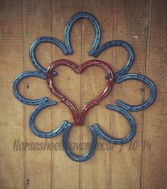 Hey, I found this really awesome Etsy listing at https://www.etsy.com/listing/195980010/horseshoe-heart-wall-hanger
