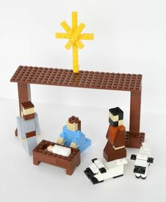LEGO Nativity Set Instructions – Frugal Fun For Boys and Girls - Weihnachtsbasteln Mit Kindern Lego Christmas Tree, Play Christmas Music, Etsy Christmas, Christmas Nativity, A Christmas Story, All Things Christmas, Christmas Activities, Christmas Crafts For Kids, Christmas Projects