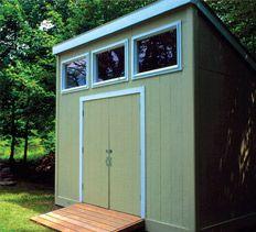 Free shed plans (100sqft)