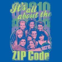 #beverlyhills90210 #popfunk  http://www.popfunk.com/mens-tees/cbs-television-city/beverly-hills-90210/90210-zip-code.html