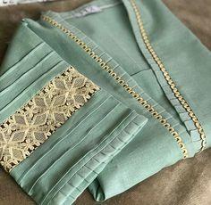 Neck Designs For Suits, Neckline Designs, Sleeves Designs For Dresses, Dress Neck Designs, Kurti Sleeves Design, Kurta Neck Design, Simple Kurta Designs, Kurta Designs Women, Fancy Dress Design