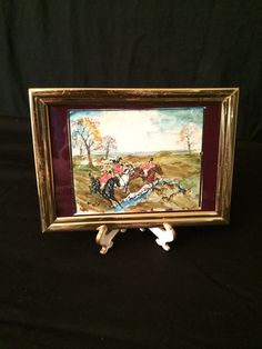 Framed Mixed Media Painting by Former Walt by oldfangledcool