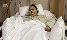 """500KgsWorlds Heaviest Woman Today Weighs Just Half Of That - All Thanks To Indian Doctors   Exactly two months after the 500-plus-kg Eman Ahmed landed in Mumbai from her hometown of Alexandria in Egypt her weight has halved.  Dr Muffazal Lakdawala the bariatric surgeon who operated on Eman on March 7 said at a public function on Tuesday that she """"has lost 242kg from the time she landed on Indian soil"""".  Eman who is 36 years old was considered the heaviest woman in the world until her visit…"""