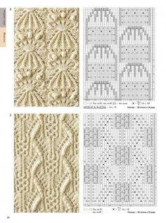 Lace Knitting Stitches, Knitting Books, Vintage Knitting, Baby Knitting, Crochet Motif, Knit Crochet, Crochet Hats, Stitch Patterns, Knitting Patterns