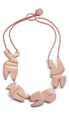 Denise Julia Reytan Necklace: LIVING MEMORY 2011 Reconstructed coral, coral, silver