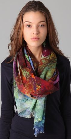 this scarf is beautiful!