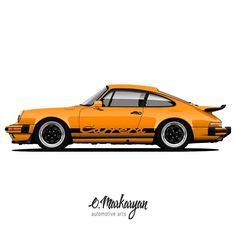 1976 Porsche 911 Carrera 3.0 Coupe. Vector poster.    You can also order the the art with your car. I accept orders. Write me to direct or emeil. Contacts in BIO.    #olegmarkaryan #carartist #carart #cardrawing #automotive #automotivearts #carinstagram #cargram #carposters #speedhunters #wheels #rims #porsche #porschelove #porscheclub #930 #porsche930 #porschecarrera #porsche911carrera #porsche911 #porscheclassic #design