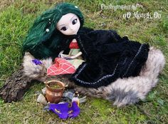 Preparando pociones | Caracterizada de Morgana para un concu… | Flickr