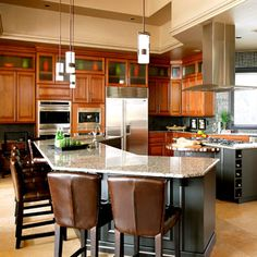 This is what I might want the kitchen to look like