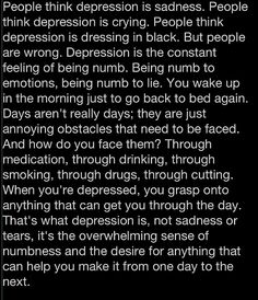 Yes I suffer from depression, no you don't need to judge me on my emotions or my poor eating habits. I'm working on seeking help and I don't need anyone to judge me to make it harder than it already is!