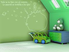 Vinilo El Principito 1 color - Decoraespacio.com
