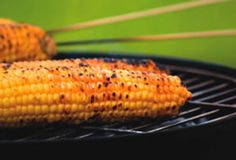 Grilled Corn on the Cob with Honey Cilantro Lime Butter
