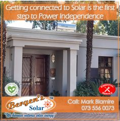 Solar is the first step to power independence. We specialise in Solar home solutions, Solar Geysers and Solar heated pools. We are in your area and only one call away. Bergens Solar is Covid Compliant.  #poweredbysolar #solarpower #bergens #solar #solarsolution #solarrepairs #solarmaintenance #essentialservice #southafrica #solargeyser #tracingwires #power #bergenssolar #gogreen #weharnessnaturessolarenergy #covid19 #lockdown  Call Mark for a Quote Phone: 073 556 0073 Email…