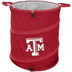 Logo Chairs Collegiate Trash Can - Texas A and M