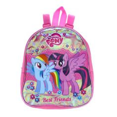My Little Pony backpack ft. Rainbow Dash & Princess Twilight Sparkle, from Claires Accessories