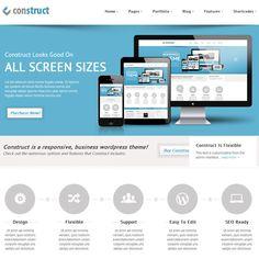 Construct – Multipurpose WordPress Theme   Premium WordPress Themes