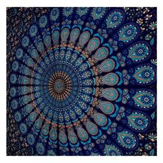 Wall Hanging Hippie Mandala Tapestry Indian Ethnic Decor Bohemian Twin Bedspread #GlobusChoiceInc #Ethnic
