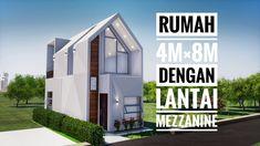 Minimalis House Design, Minimalist Layout, 3d Architecture, Multi Story Building, Exterior, Modern, Home, Future, Architecture