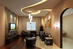 What Are The Advantages Or Disadvantages Of Having A False Ceiling. Ceiling  DesignSmall Living Room ...