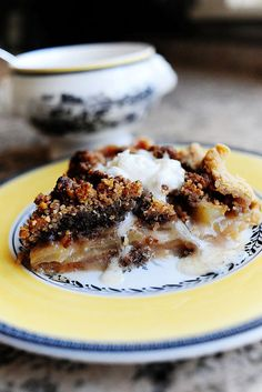 best apple pie of my life!  you'll never use another recipie!