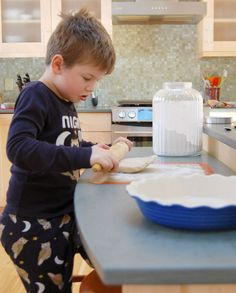 Practical Tips for cooking with kids. I always had Molly in the kitchen but since Cormac has been mobile it's become so hard. Good tips to get M back at the counter where she so desperately wants to be.