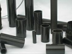 Table-rolled carbon fiber tube is composed of Carbon Fiber Twill (or Plain) Weave Fabric, Unidirectional Carbon Fiber prepreg and epoxy resin. The tube is firstly table rolled with a mandrel of certain diameter and length