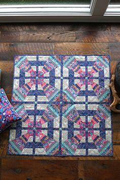 Amy Butler's Carnival Pinwheels Quilt Designed by Susan Guzman using Amy Butler's Soul Mate fabrics.