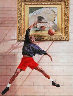 Here's Why Contemporary Art Is Obsessed with Basketball | The Creators Project