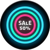 Neon Glow C - Icon Pack 2.7.0 APK Patched Apps Personalisation