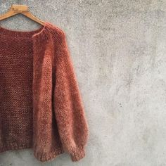 - Color Rain Cardigan - Pattern in the making! - Diy And Crafts Wooly Jumper, Mohair Sweater, Knitting Designs, Knitting Patterns, Knit Cardigan Pattern, Cardigan Outfits, Diy Clothes, Knitwear, Knit Crochet