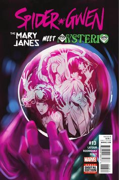 Preview: Spider-Gwen #13, Story: Jason Latour Art: Robbi Rodriguez Cover: Robbi Rodriguez Publisher: Marvel Publication Date: October 19th, 2016 Price: $3.99    ...,  #All-Comic #All-ComicPreviews #Comics #JasonLatour #Marvel #previews #RobbiRodriguez #Spider-Gwen
