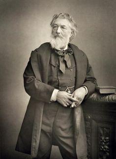 Stanislaus Walery - Sir Frederic Leighton (1830-96), painter, portrait photograph (b/w photo)
