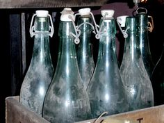 hinged glass bottles - Google Search