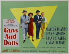 Poster for 'Guys and Dolls' ...