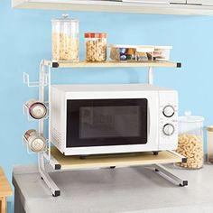 SoBuy® FRG092-N, Kitchen Appliances Storage Shelf Rack, M…