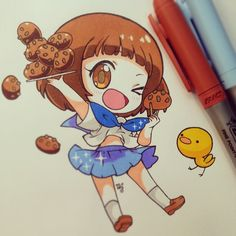 Marvelous Learn To Draw Manga Ideas. Exquisite Learn To Draw Manga Ideas. Manga Anime, Anime Body, Chibi Anime, Fanarts Anime, Art Kawaii, Kawaii Chibi, Cute Chibi, Anime Kawaii, Kawaii Bento