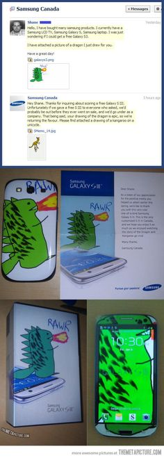 Samsung just won my admiration…