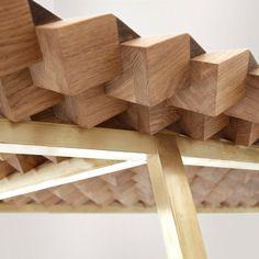 Geometric Solid Wood Furniture anima Poesía de Matemáticas: TreeHugger