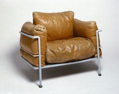 1928_ 'LC2 Grand Confort' SILLON POR Le Corbusier, Charlotte Perriand & Pierre Jeanneret | MDBA