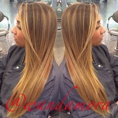 Blonde balayage and keratin done to create this stunner!  By wanda mora