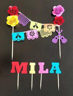 Mexican Birthday Parties, Kids Birthday Themes, 1st Birthday Girls, First Birthday Parties, Geek Party, Party Party, Party Time, Frida Kahlo Birthday, Aaliyah Birthday