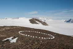 A Circle In Antarctica Ten Days In The Heritage Range Of The Ellsworth Mountains, 2012 by Richard Long on Curiator, the world's biggest collaborative art collection. Richard Long, Land Art, Landscape Art, Landscape Photography, Landscape Architecture, Digital Museum, Collaborative Art, Environmental Art, Mandalas