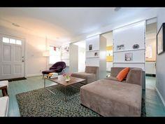 Contemporary Unsymmetrical Living Rooms Design Ideas