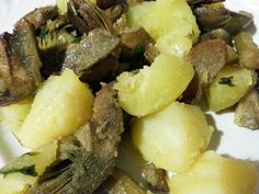 Carciofi con patate #ricettedisardegna #sardegna #sardinia #food #recipe #cucinasarda