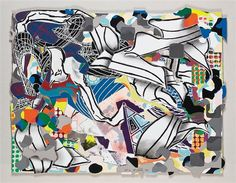 Frank Stella, Ambergris, from Moby Dick Deckle Edges