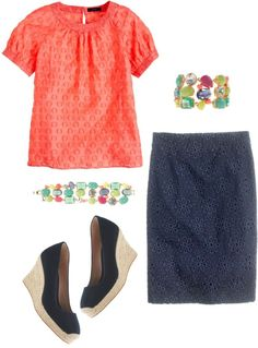 """""""Dots & Pinwheels"""" by justvisiting ❤ liked on Polyvore"""
