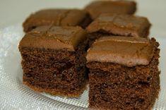 Kake 6,5 dl sukker 3-4 ss kakao 1 ss natron 7,5 dl kefir 150 g smør / margarin 10 dl hvetemel Stekes ved 170 gr C, midt i ovnen Steketid: 30 - 35 minutter Bland det tørre og rør det sammen med smeltet smør og kefir til en jevn masse. Legg bakepapir i en langpanne og hell i røren. Stikk k...