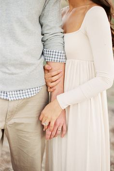 Such a precious engagement picture!
