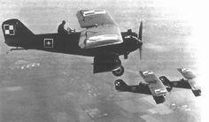 Samoloty Breguet XIX w locie. (Źródło: archiwum).